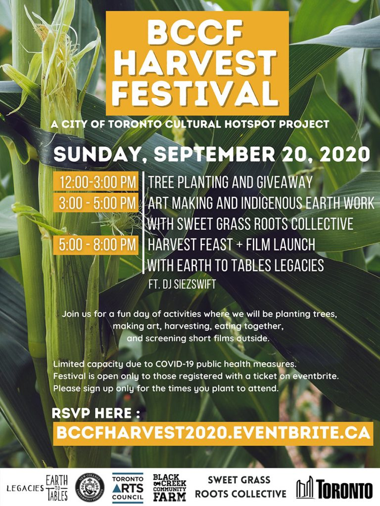 BCCF Harvest Festival poster